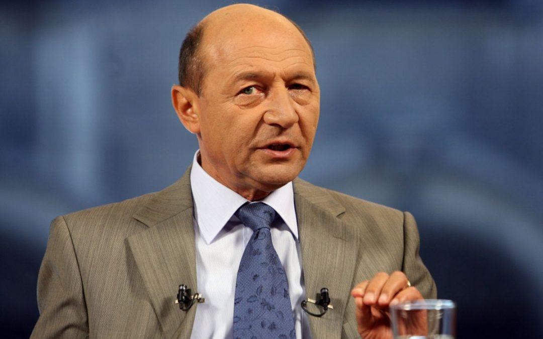 Ex-President Traian Basescu To Run For Bucharest Mayor