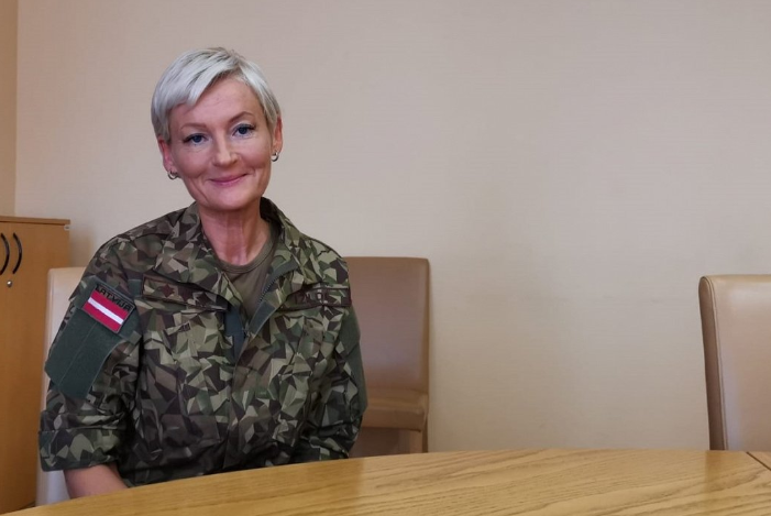 Interview: Ilze Žilde, first woman ranked colonel in Latvian army