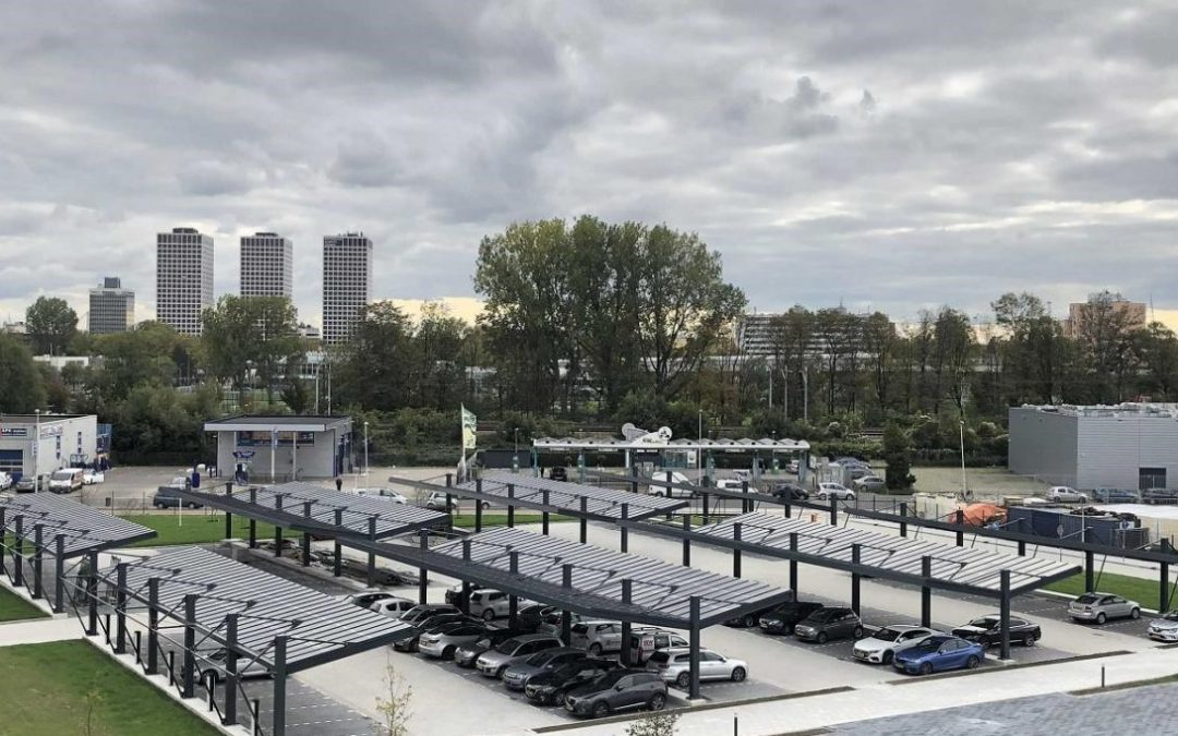 Rotterdam adds more solar panels in parking lots