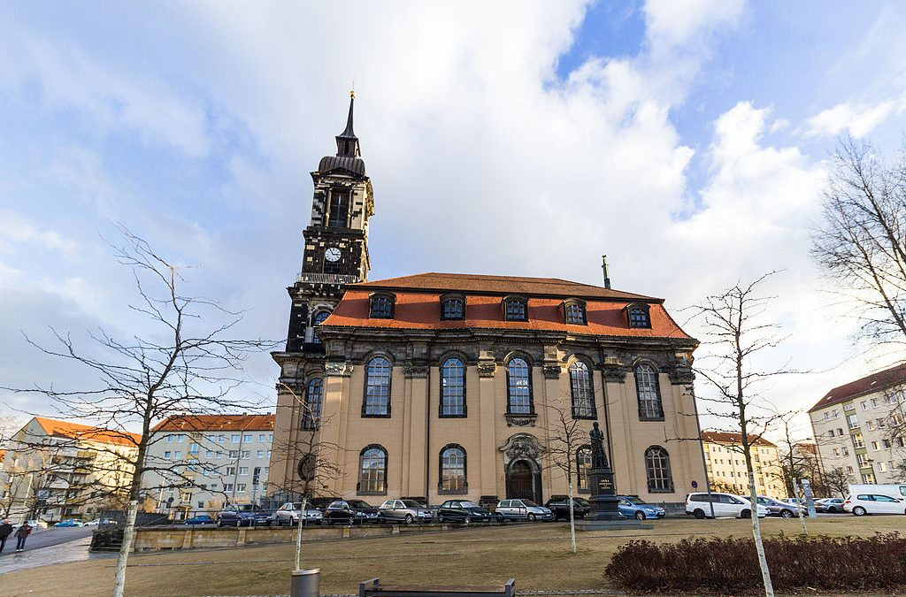 "Dresden planting campaign at the Annenkirche creates ""opportunities for those without opportunities"""