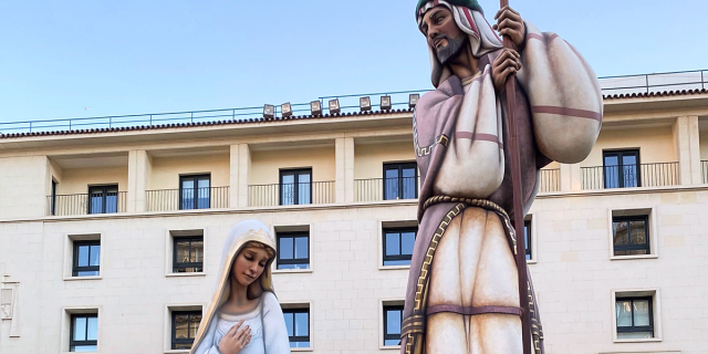 The world's largest Nativity scene is in Alicante, Spain