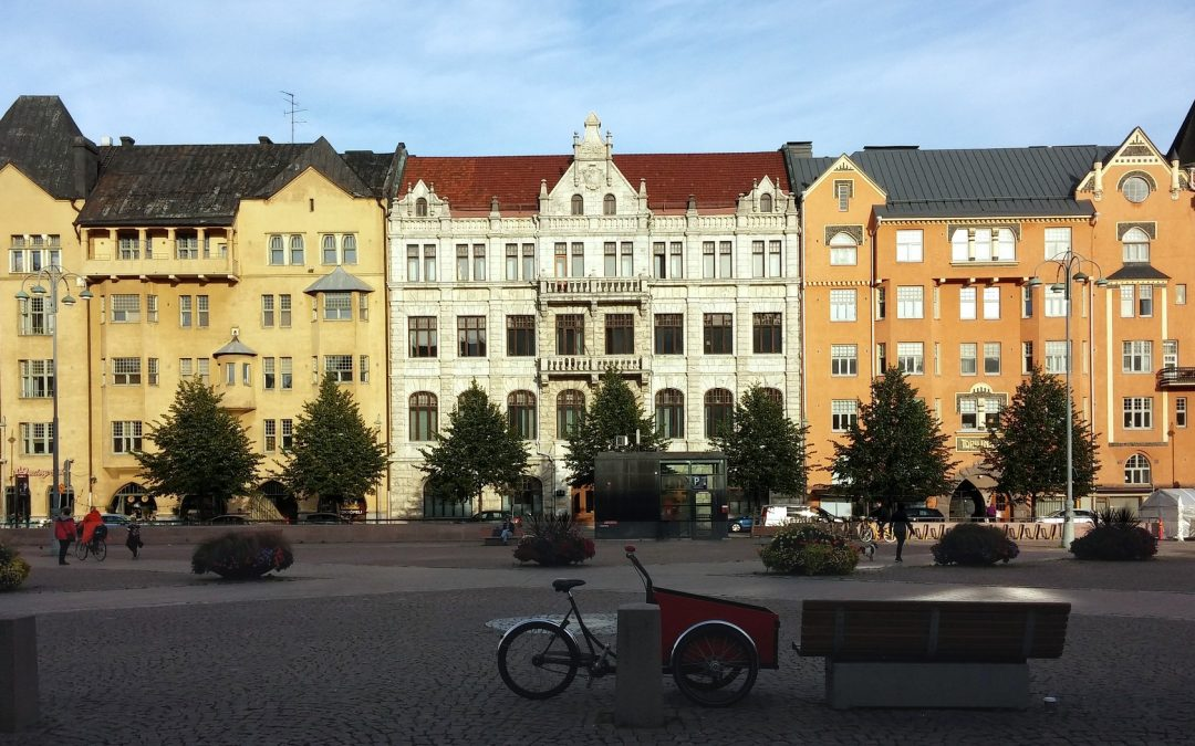 Smart City development is expanding throughout Helsinki