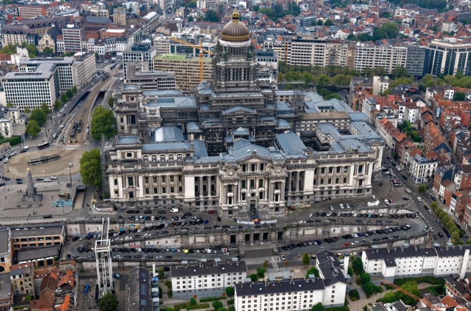 Brussels to make slopes of Justice Palace car-free from March
