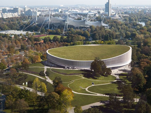 The foundation stone for the new SAP Garden was officially laid in Munich's Olympiapark