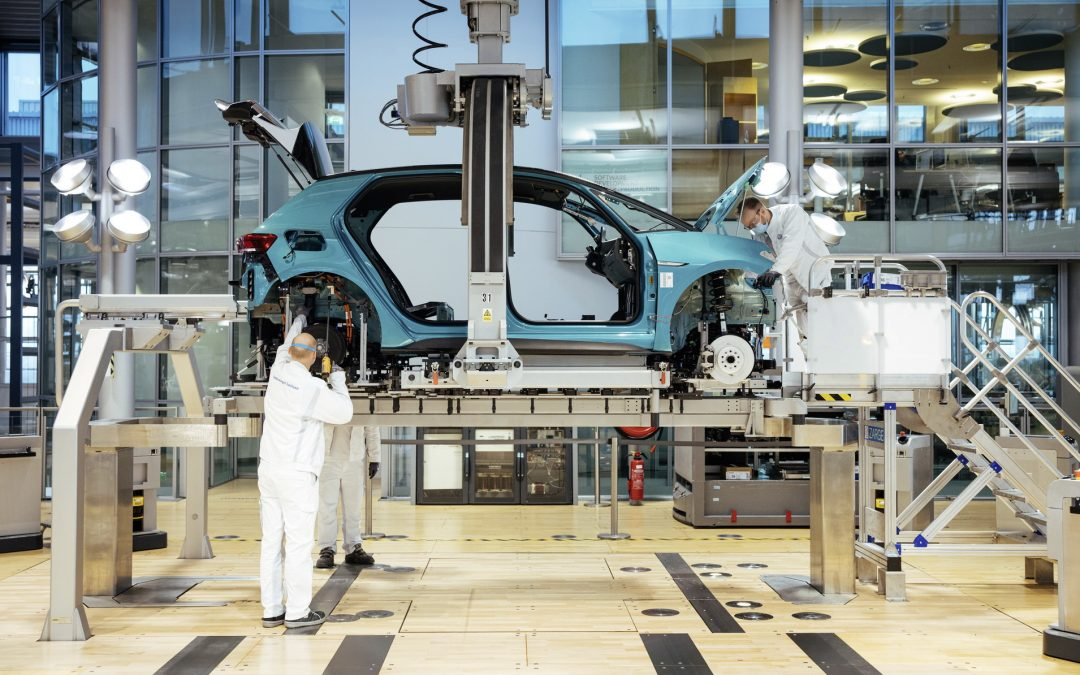 VW ID.3 Enters Production At Dresden