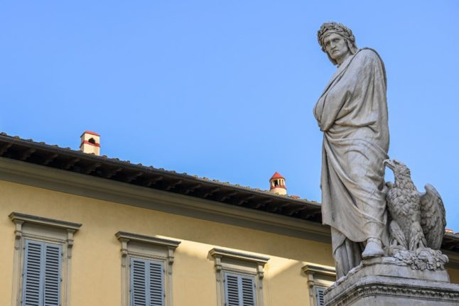 Italy celebrates Dante Alighieri, the giant of world literature