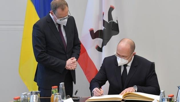Kyiv and Berlin to cooperate in the field of transport, environment and education