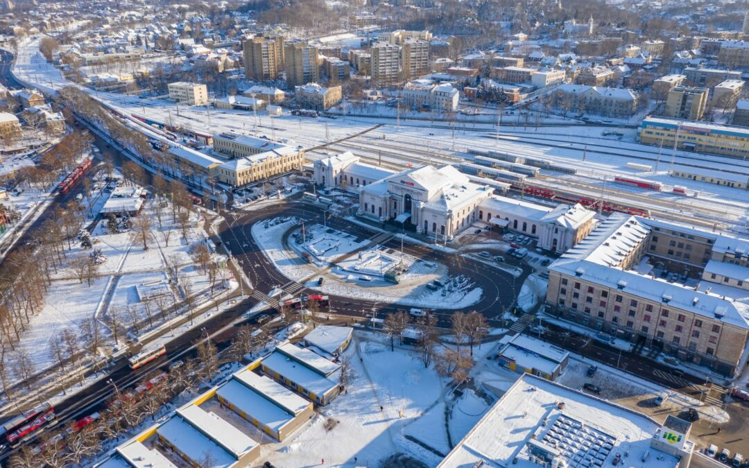 International competition for redevelopment of Vilnius railway station