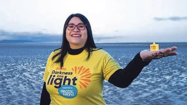 Mayor Chu as ambassador of this years' Darkness into Light event