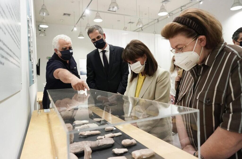 New exhibition with archaeological artefacts opened in Athens