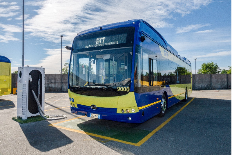 Turin made the largest order of electric buses in Italy