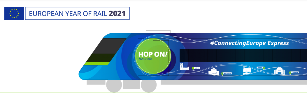 Connecting Europe Express: Year of Rail 2021