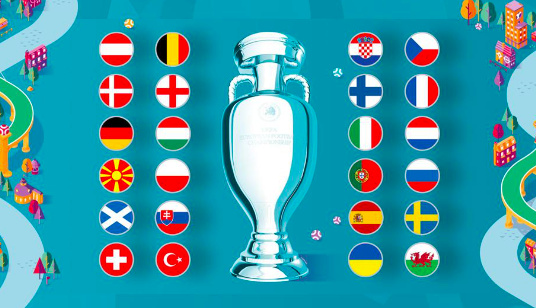 In three weeks, football rhapsody will spread across Europe