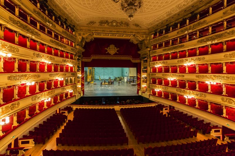 The famous La Scala reopened after more than 6 months