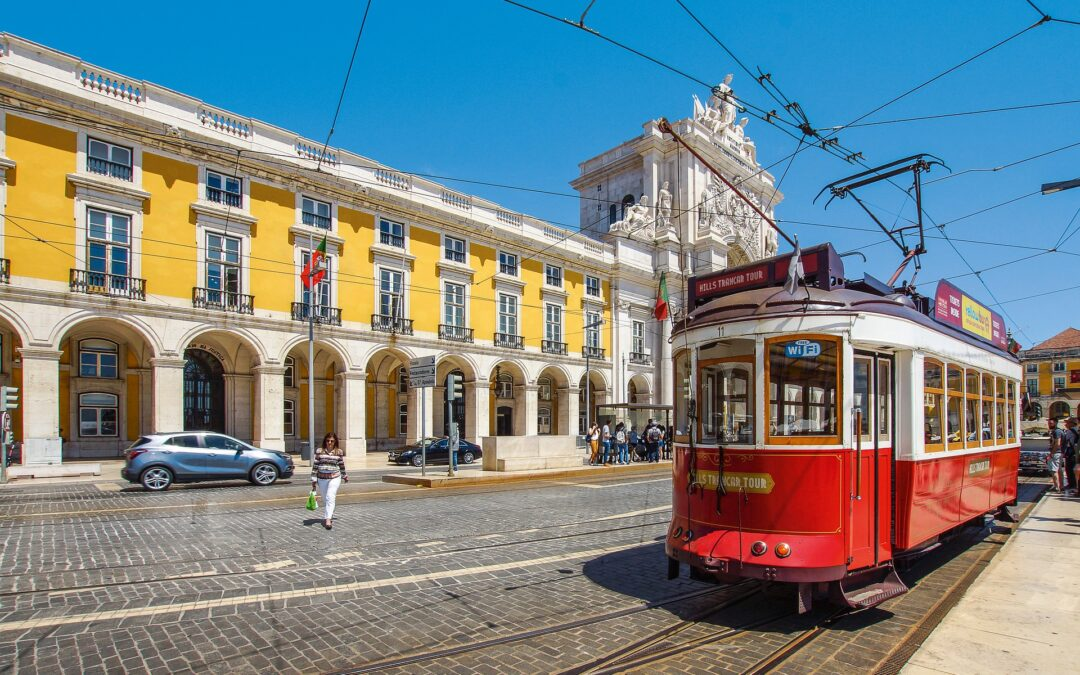 Public transportation: redevelopment of tram lines throughout Europe