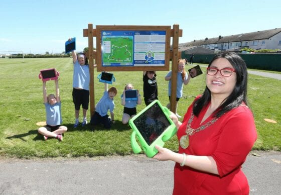 Ireland's first smart exercise park opened in Dublin