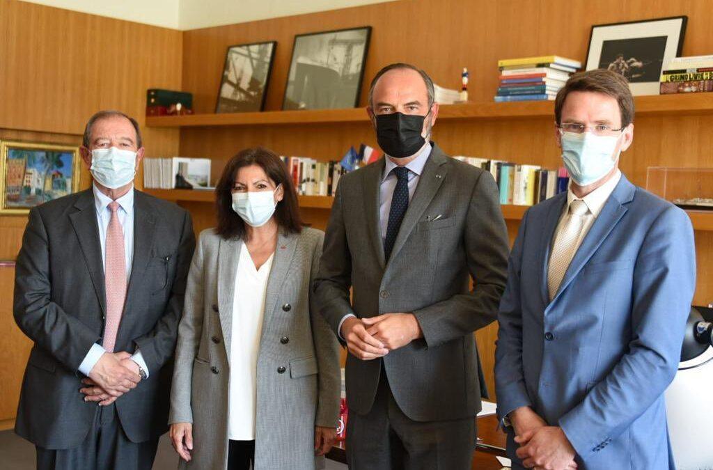 Second working meeting regarding Seine axis got held in Le Havre