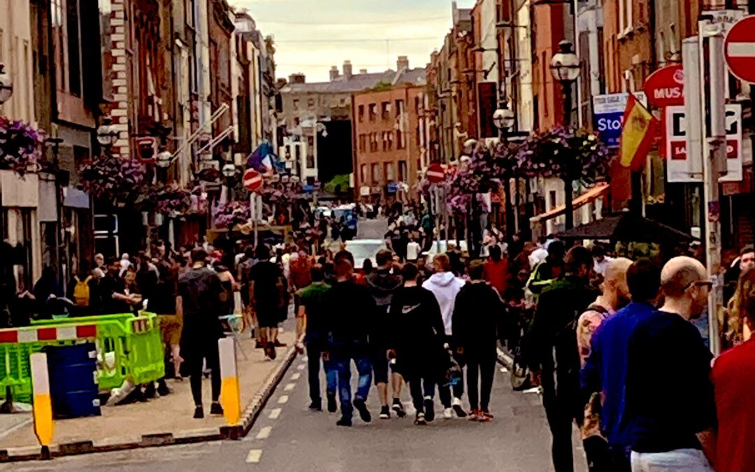 A number of Dublin streets go traffic free during weekends