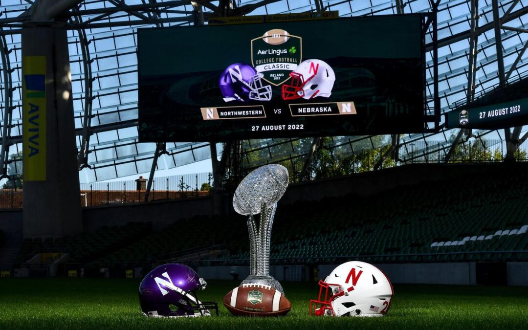 18,000 US fans to visit Dublin for College football classic in August 2022