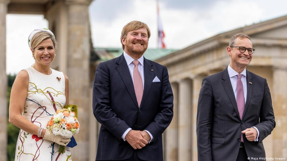 Dutch royals paying a 3-day visit to Berlin