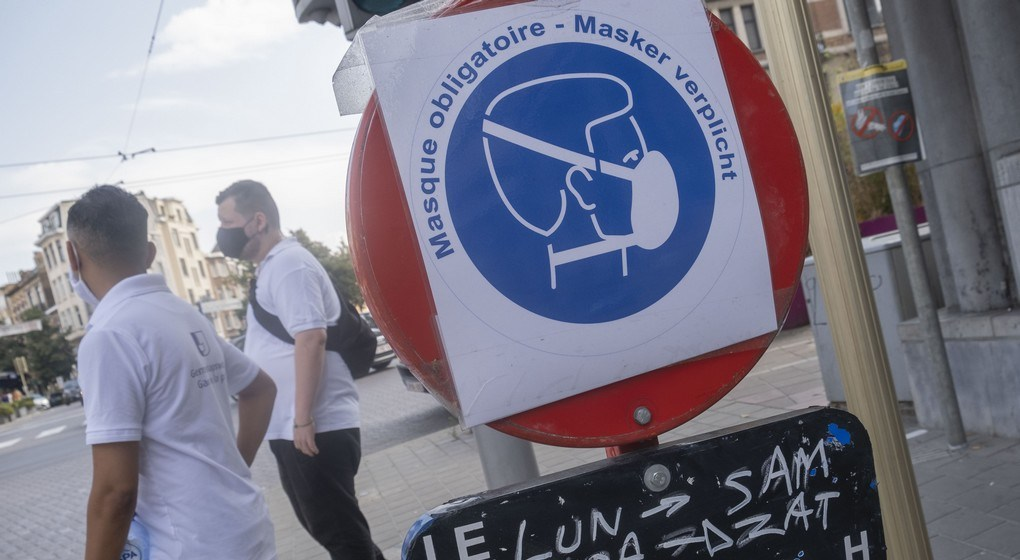 """Mayor De Clercq: """"It is now everyone's responsibility to decide for themselves when to wear a mask in public places"""""""