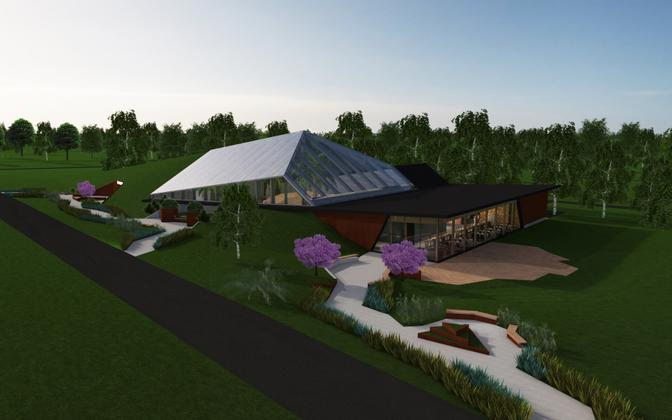 Cornerstone for Tallinn Zoo rainforest building has been officially laid