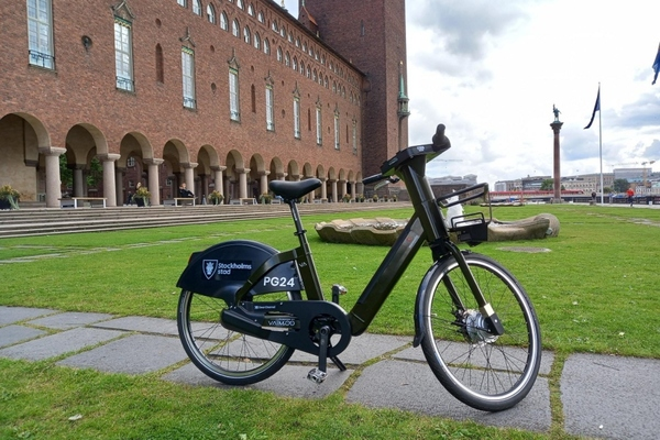 Stockholm is implementing a new city e-bike sharing service