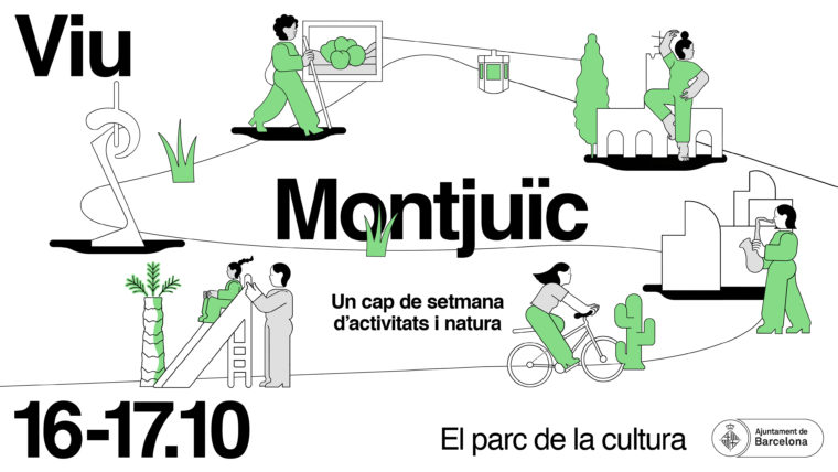 """""""Experience Montjuïc"""": a weekend of culture and leisure on 16 and 17 October"""