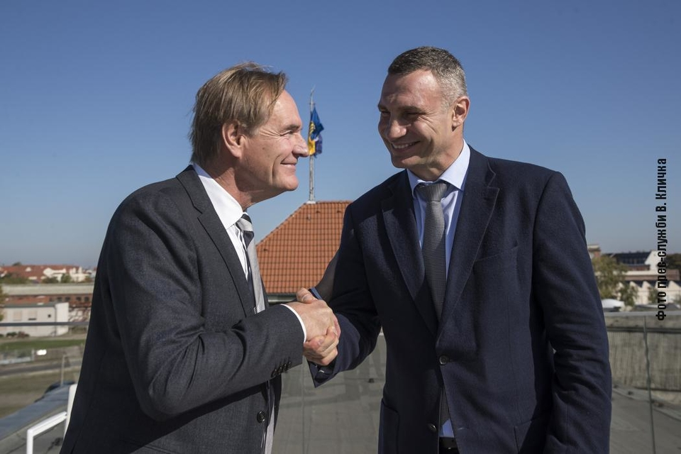 Mayors Jung and Klitschko opened the Days of Kyiv in Leipzig