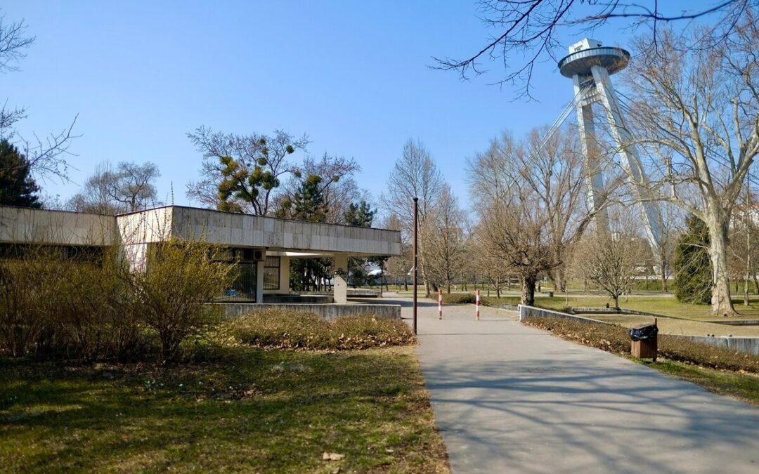 Bratislava: park Sad Janka Kráľa extensive revitalisation goes on