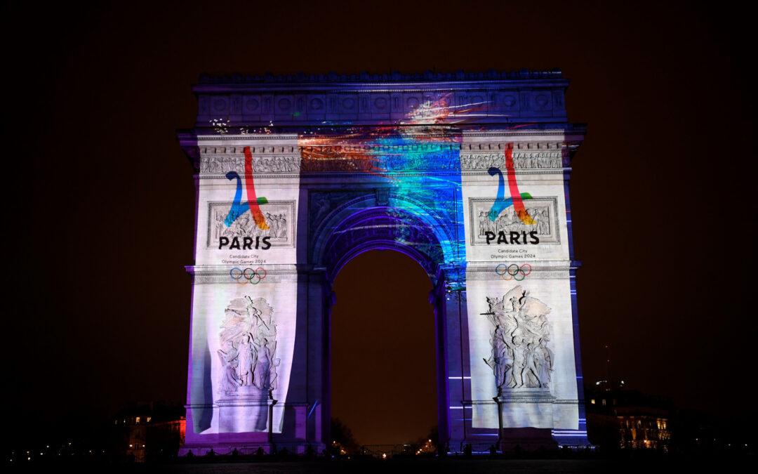 Paris 2024: Mayor Hidalgo laid first stone of Arena Porte de la Chapelle project