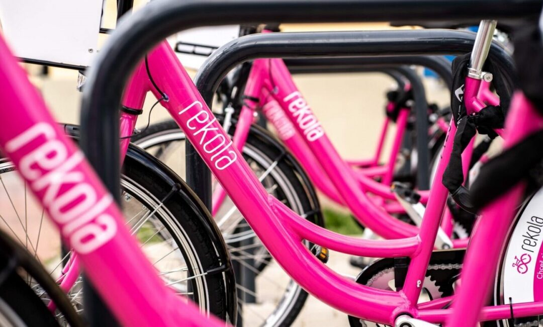 Free bikesharing pilot project launched in Prague